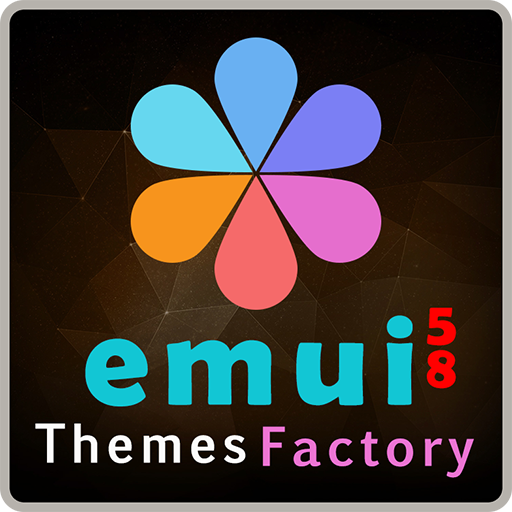 Dark Mode Pro GOLD theme for HUAWEI EMUI 5/8