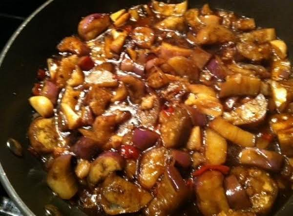 Chinese Eggplant N Garlic Sauce