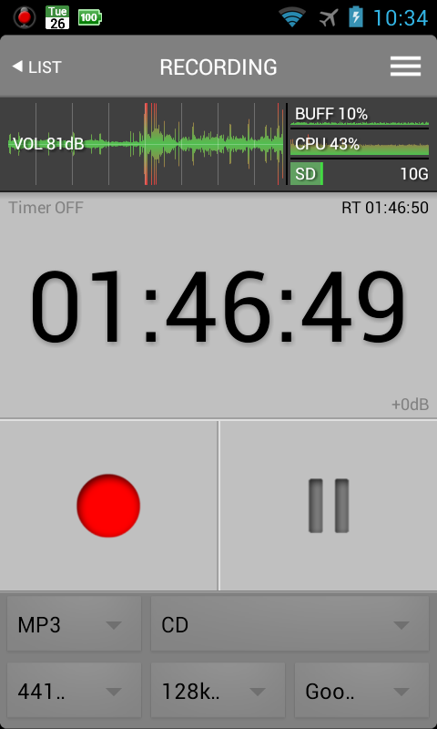 All That Recorder Lite- screenshot