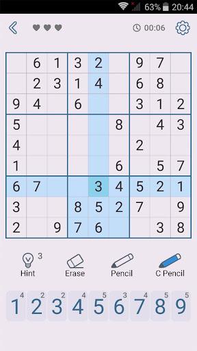 Sudoku: Free Brain Puzzles 1.7 screenshots 5