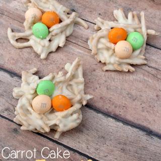 Carrot Cake Egg Nests {Easter Dessert Recipe}