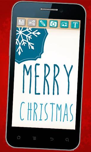 クリスマスグリーティングカードメーカー