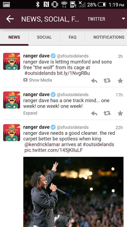Outside Lands- screenshot