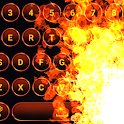 Fire Burning Keyboard Live icon