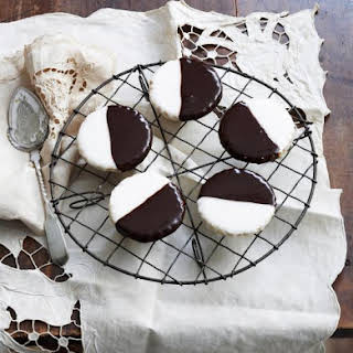Australian Black and White Cookies.