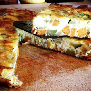 Squash & Sweet Potato Fritatta