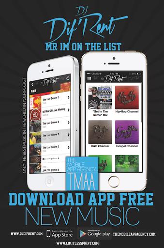 DJ Dif'Rent Mr Im on the List