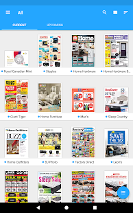 reebee: Shopping List & Flyers- screenshot thumbnail