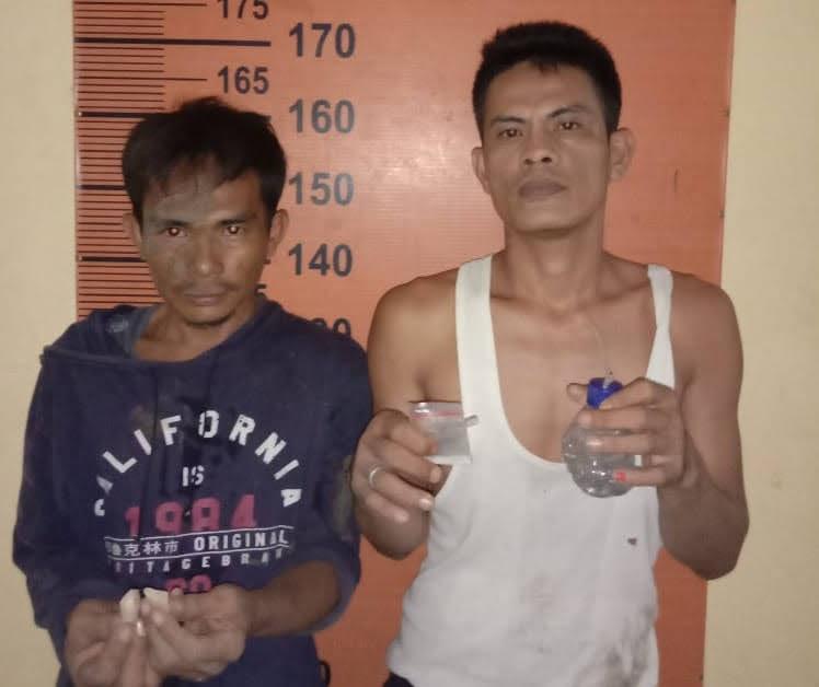 Kapolsek Pancur Batu Kompol Dedy Dharma,SH : Dua Orang Berhasil Diringkus Saat Menggunakan Narkoba