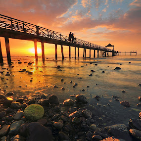 ::Promising Pier:: by Andrew Supit - Landscapes Sunsets & Sunrises