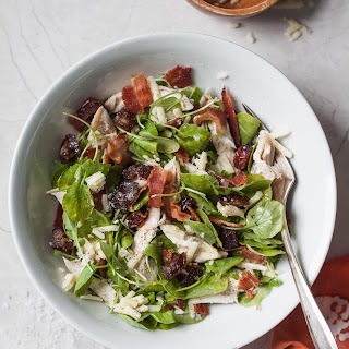 Chicken Bacon Cheddar and Medjool Date Salad.