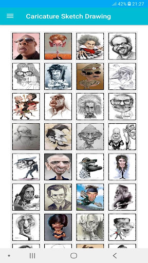 440 Awesome Caricature Sketch Drawing Offline 3 screenshots 2