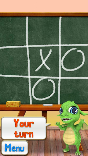 Tic tac toe with dragon
