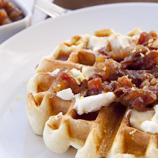 Ricotta Date Waffles Recipe