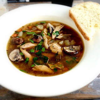 Guiness Chicken and Mushroom Stew