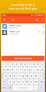 App Sharer+- screenshot thumbnail