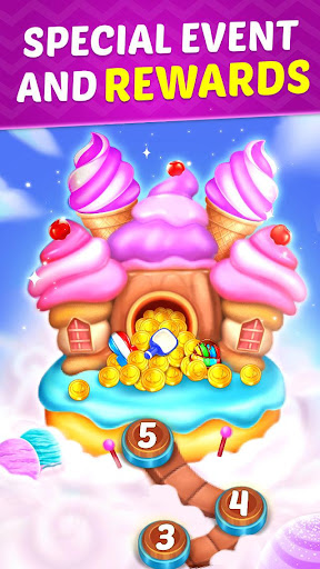 Ice Cream Paradise - Match 3 Puzzle Adventure screenshots 7