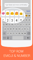 Screenshot of Emoji Keyboard - KK Emoticons