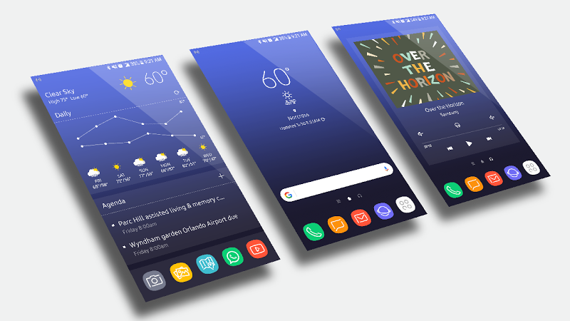 GalaxyHome for KLWP v2017.Mar.30.09