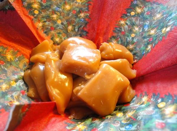 Agnes' Caramel Candy Recipe