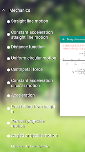 Physics Formulas- screenshot thumbnail