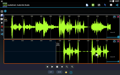 AudioDroid : Audio Mix Studio Screenshot