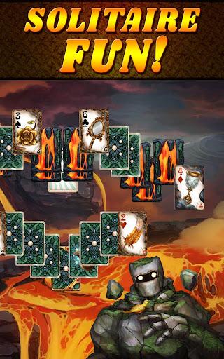 Shadow Kingdom Solitaire. Adventure of princess filehippodl screenshot 13