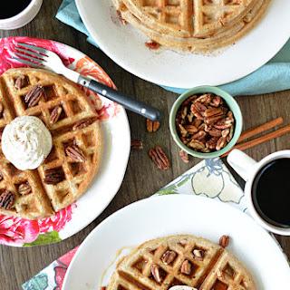 Cinnamon Pecan Waffles