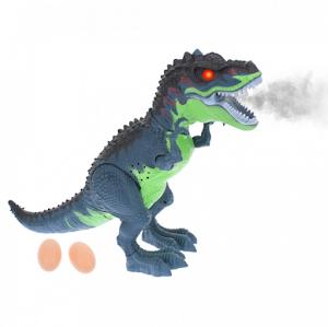 Dinozaur T-REX cu lumini si sunete - scoate flacari, oua de dinozaur