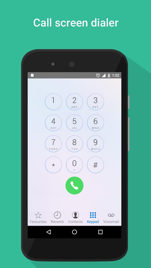 i Call screen Free + Dialer- screenshot