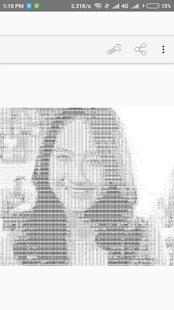 Photo to ASCII Text Art - náhled