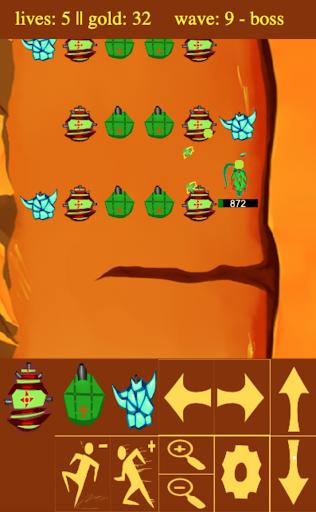 Blind Tower Defense  captures d'écran 2