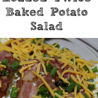 Loaded Twice Baked Potato Salad Recipe