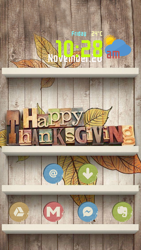Happy Thanksgiving Gift Theme