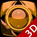 Next Launcher Theme g. orange icon