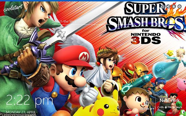 Super Smash Bros HD Wallpapers Games Theme