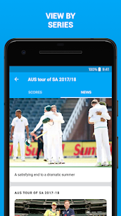 ESPNCricinfo - Live Cricket Scores, News & Videos Screenshot