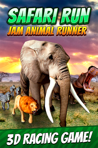 Safari Run - Jam Animal Runner