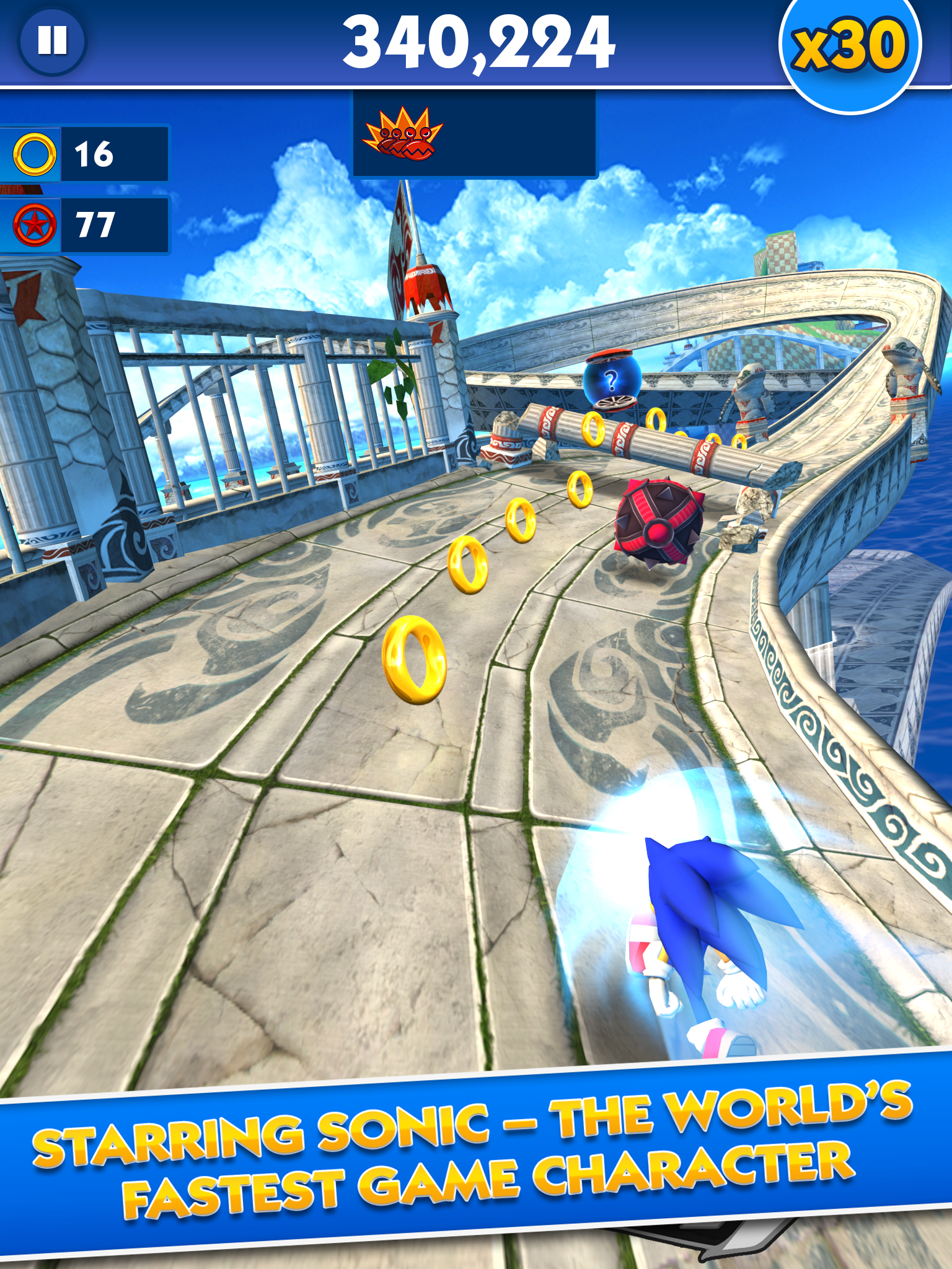 Sonic Dash screenshot #7