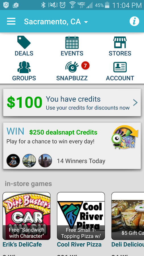 dealsnapt- screenshot