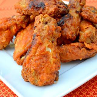 Fried Hot Wings.