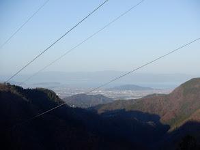 琵琶湖が近くに