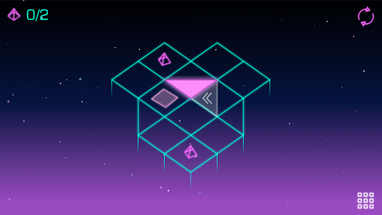 Neo Angle - Retro 3D Puzzle Screenshot