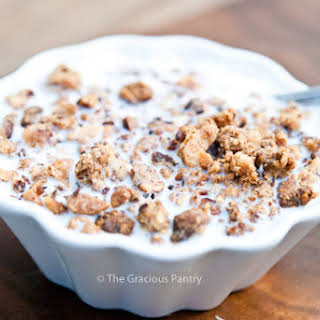 Clean Eating Low Carb Breakfast Cereal.