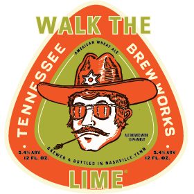 Logo of Tennessee Brew Works Walk The Lime