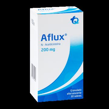 AFLUX 200mg Granulado   Efervescente x30Sob TQ N-Acetilcisteína