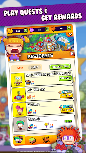 Nickelodeon Pixel Town 1.3.6 screenshots 4