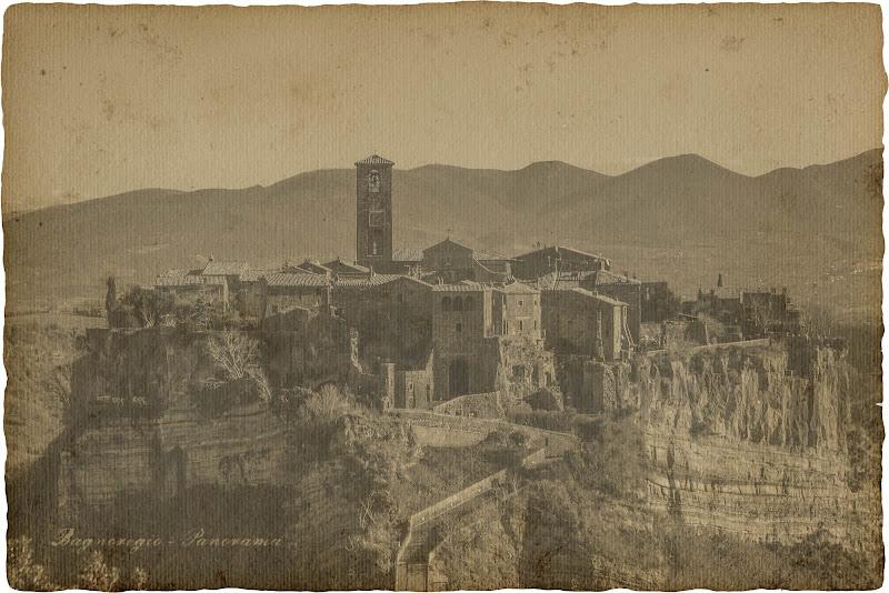 Bagnoregio - Panorama di Jiggly