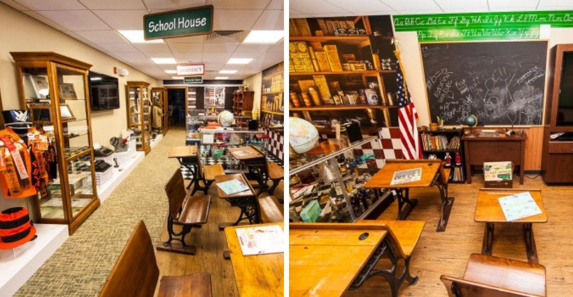 Classroom History Museum Exhibit