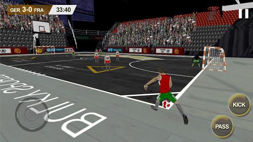 Professional Futsal Game 2016